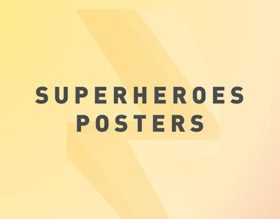 Superheroes Posters