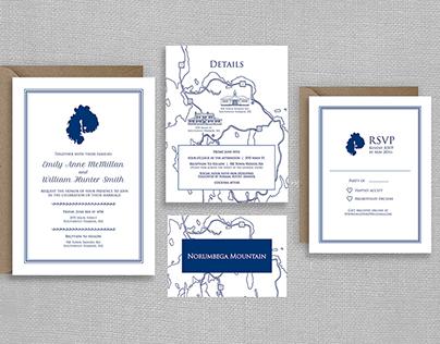Nautical Map Wedding Invitations | Custom Design
