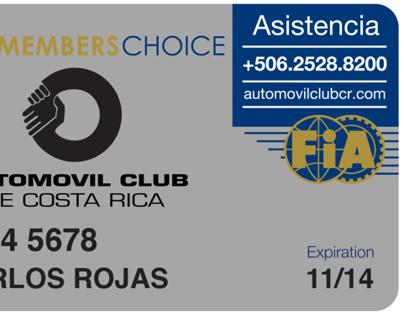 Member's Choice Logo and Member Card Design