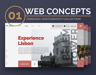 WEB CONCEPTS 01 | Personal photography collection