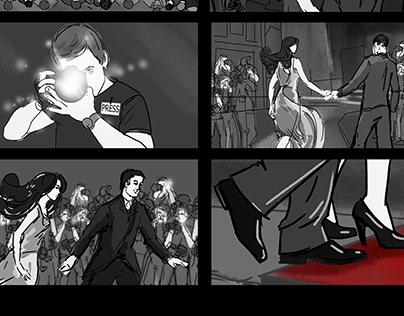 """Storyboard for promo """"Zirkovyy Slyah"""""""