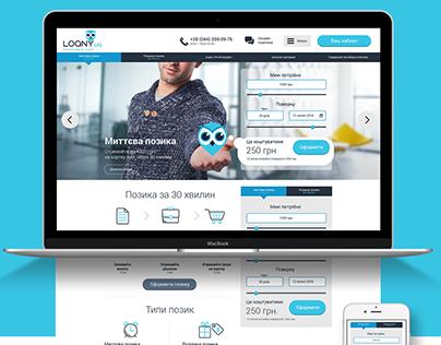 Loan web platform