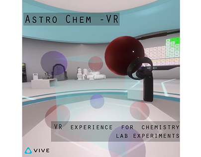 Astro Chem-VR A Lab for inorganic chemistry