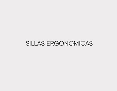 Sillas Ergonomicas 2020 - Desk.