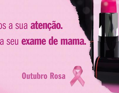 Outubro Rosa | Prevenção Câncer de mama
