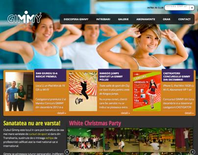 Gimmy - 2013 website