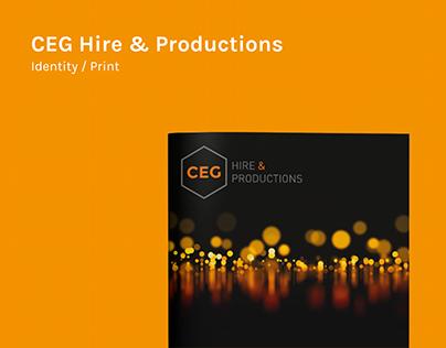 CEG Hire & Productions