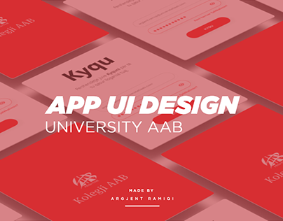 Universitaty AAB UI Design