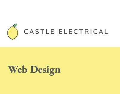 Castle Electrical Ltd Web Design