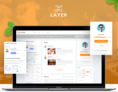 LAYER - Software Consulting Company Website