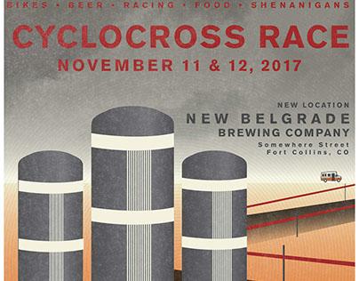 Cyclocross Race Poster