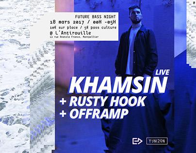 electrodidact present : khamsin + guests / 2017