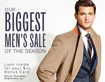 Lord & Taylor Men's Scene Catalogue