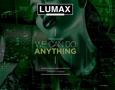 LUMAX Production - video studio website