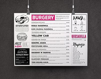 YELLOW CAB | Restaurant Menu