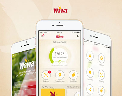 Wawa Rewards App