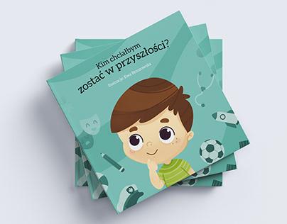Personalized children book design - boys