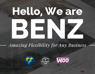 Benz - Creative Multiuse WordPress Theme
