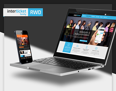 Interticket Family web & app design