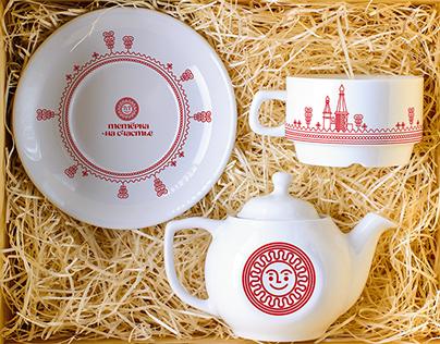 """Teterka for happiness"" Kargopol tourist brand"