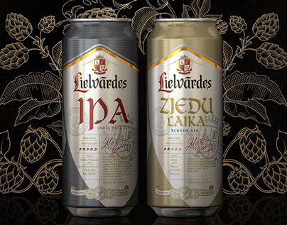 Lielvardes Beer Can Design