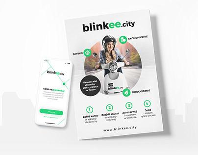 blinkee.city – materiały promocyjne