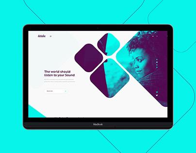 Intaba - Music | Web interface design