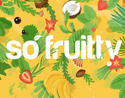 Illustrations for So Fruitty