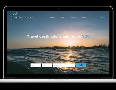 DESTINATIONS CO. WEBSITE