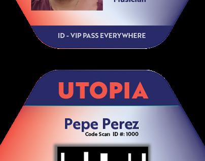 Utopia ID - Adobe Live Contest