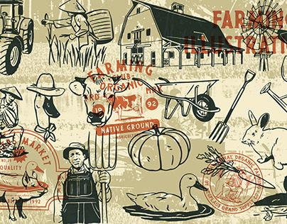 Farm Illustrations Vol.02
