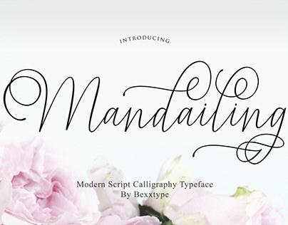 Font Mandailing Script