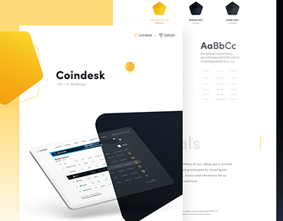 CoinDesk – Redesign