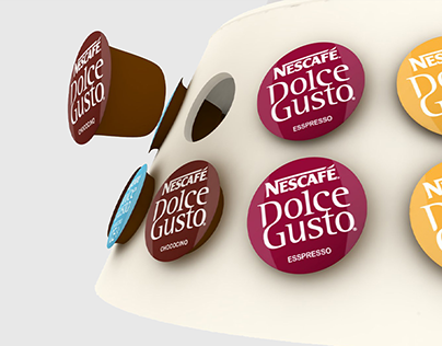 Dolce Gusto display design concept