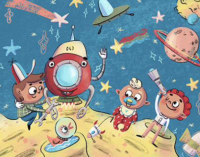 Banner for kid's app and web site