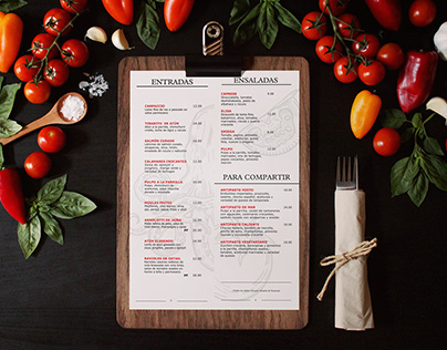 Food Menu Design