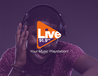 Live FM Website Redesign Concept