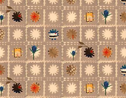 Folky Wallpaper~Degree Project 2020~