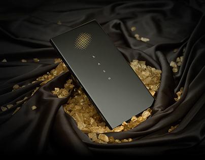 Metallic Point : CMF Concept Smartphone
