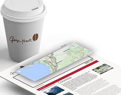 George Howell Coffee: Website