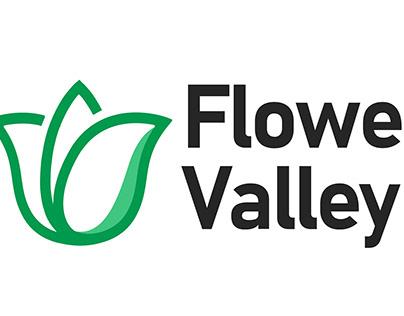 Логотип магазина по продаже тюльпанов