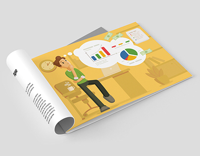 12 Illustrations for brochure