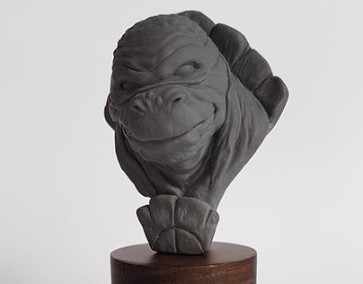 Tortuga Ninja - Escultura