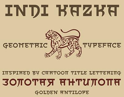 Indi Kazka (Typeface)