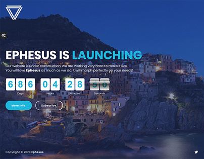Ephesus - Creative Coming Soon Template
