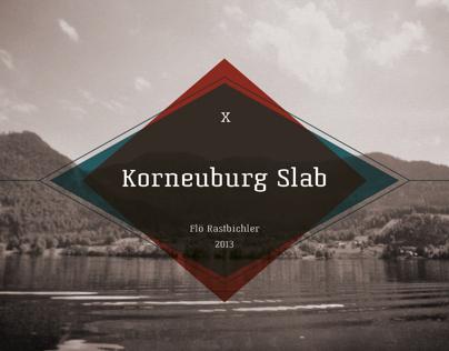 Korneuburg Slab | Free Font