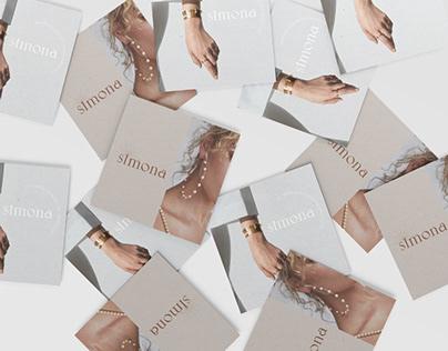 SIMONA logo for jewelry lux