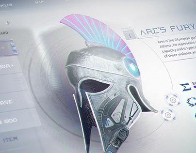 Cyber Greek UI
