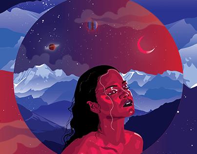 Album Cover - 'ANTI' Rihanna's album cover re-imagined.