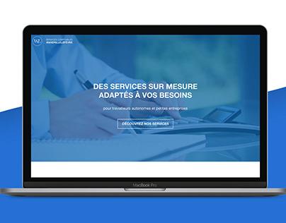 Wandrille Lefèvre - Logo and website